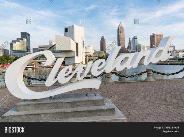 Cleveland - September 16 2016 & Bigstock