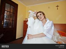 Bride Silk Robe & Bigstock