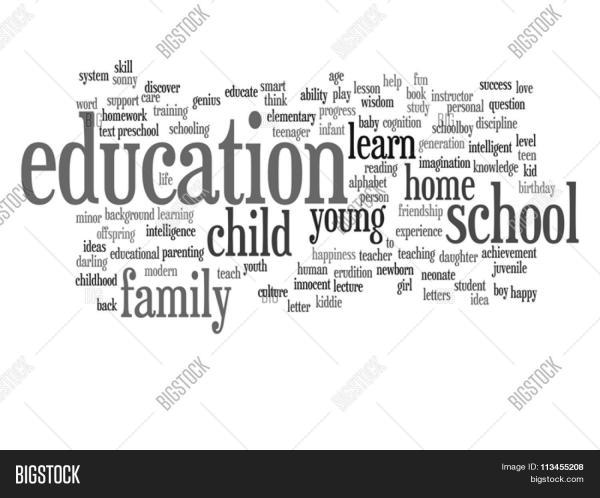 Vector Concept Conceptual Child Education Family
