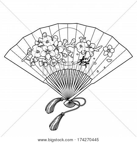 Traditional Japanese Fan Design