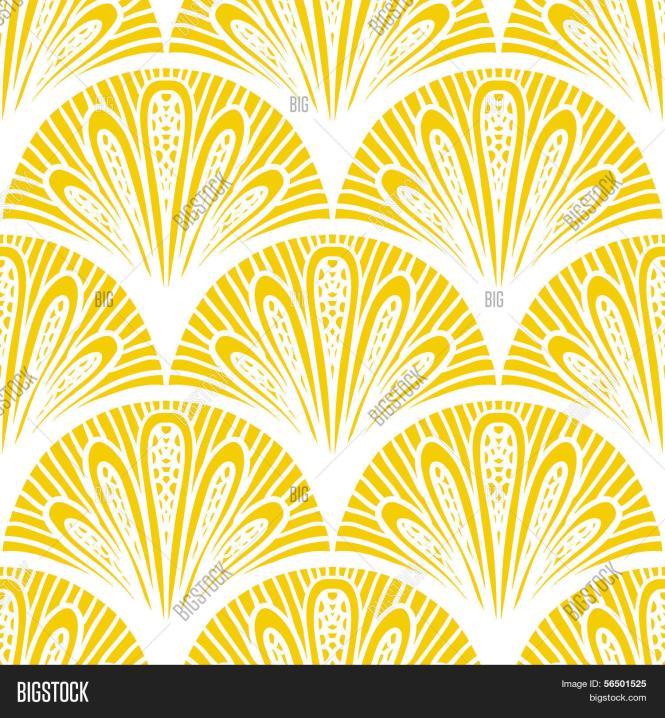 Geometric Art Deco Background Free Vector