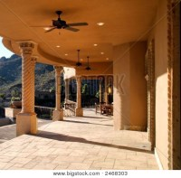 Picture or Photo of Beautiful patio and balcony of stone ...