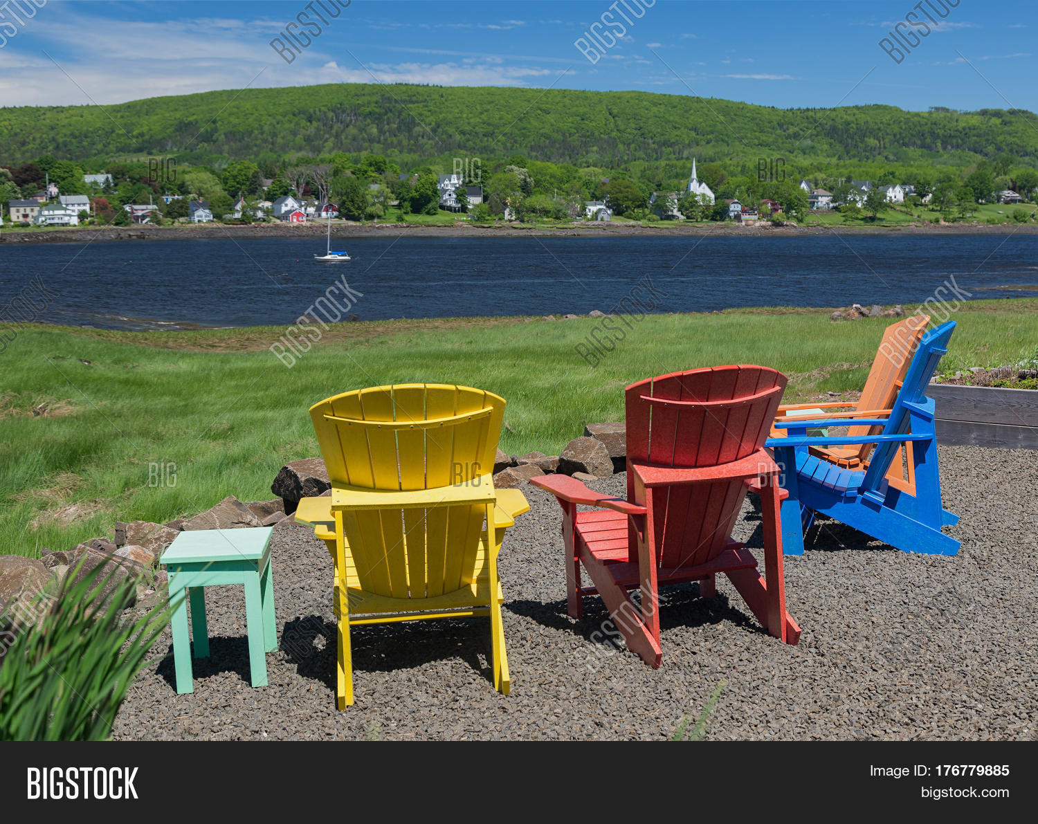 new river adirondack chairs dining room parson chair covers overlooking the annapolis in nova