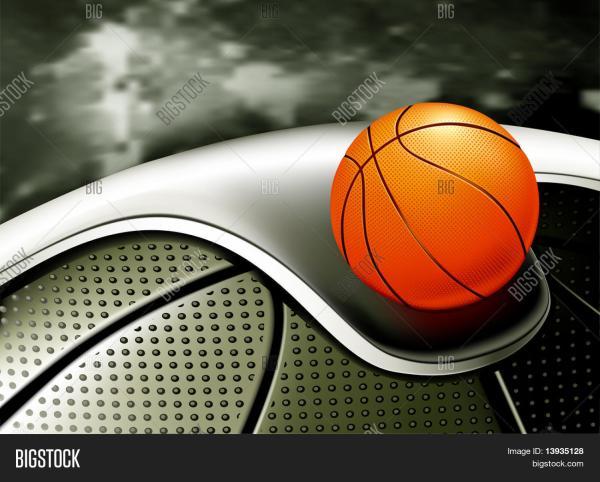 Sports Background Basketball Vector & Bigstock