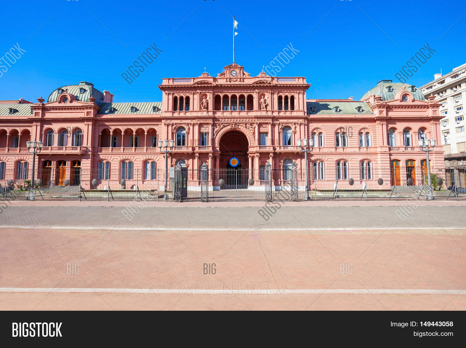 Casa Rosada La Serena La Casa Rosada Buenos Aires Stock Photo And Stock Images
