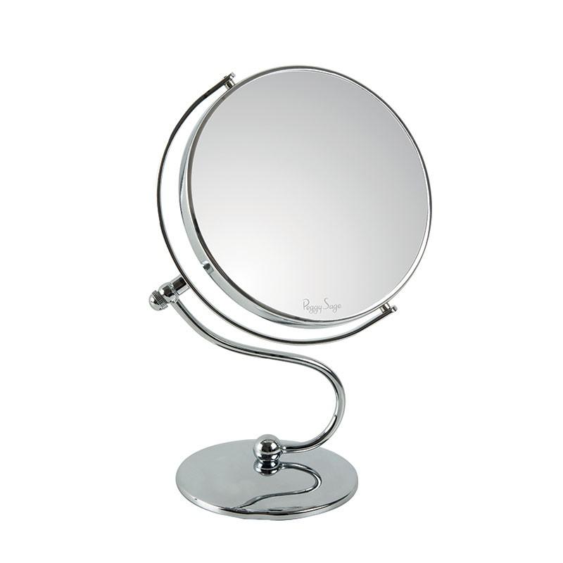 Miroir Double Face Grossissant X10 Sur Pied Peggy Sage