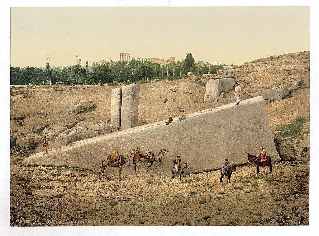 This was the Temple of the Sun in Baalbek
