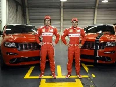 Jeep Grand Cherokee for Scuderia Ferrari (2012)