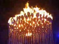 Video Of The Olympic Cauldron Lighting In London ...