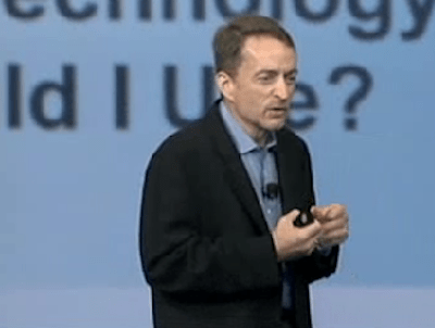 VMware's Pat Gelsinger: Taking them into the cloud and beyond.