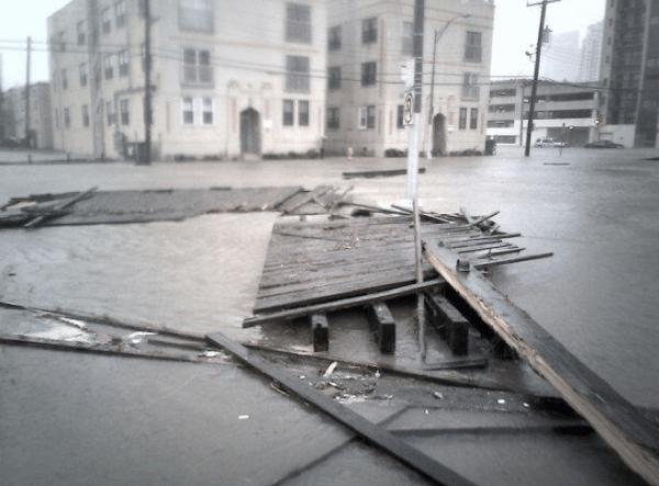 Ураган песчаных Атлантик-Сити