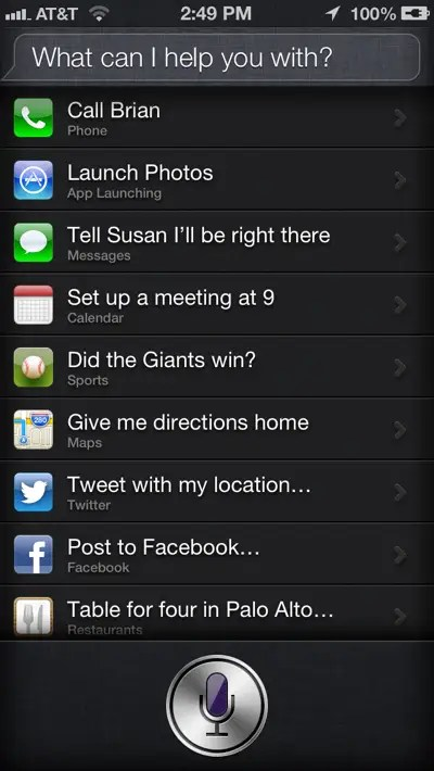 Use Siri to set location-based reminders