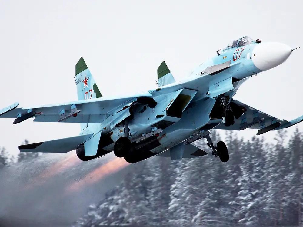 Su-27 Afterburner