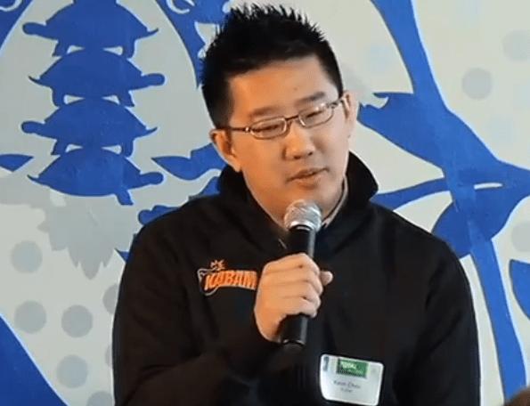 Kevin Chou, CEO of Kabam