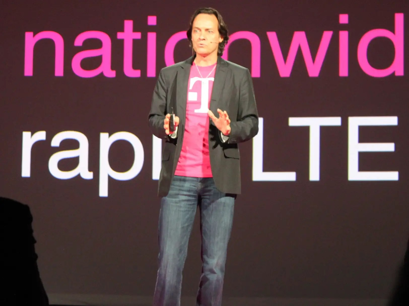 John Legere is the outspoken leader of T-Mobile