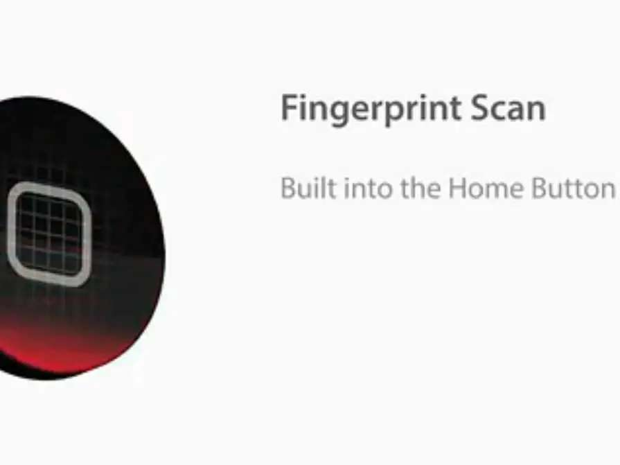There is also talk that Apple could add some sort of fingerprint scanning technology.