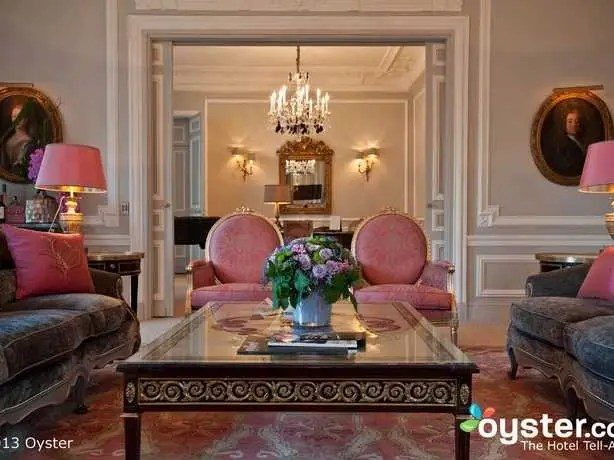 The Eiffel Suite Classic at Hotel Plaza Athenee: €10,000/night