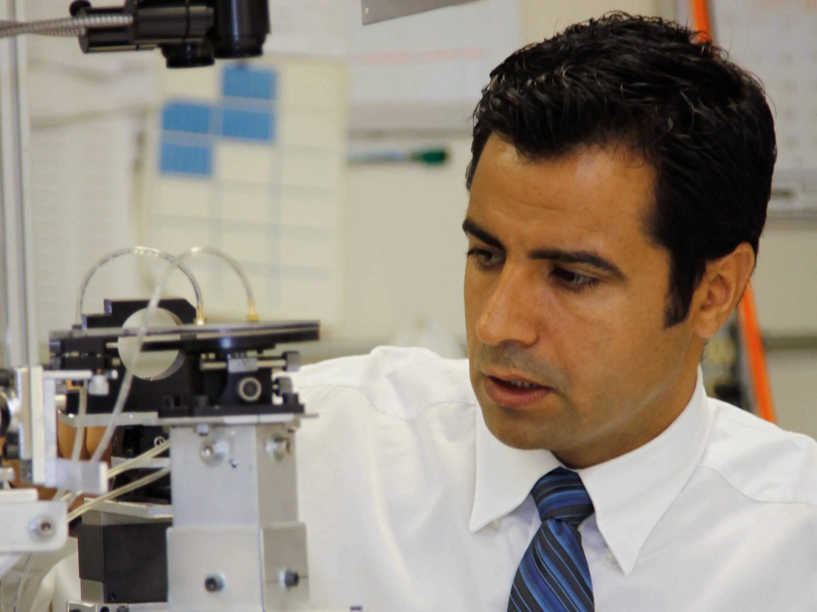 KENTUCKY: Dr. Mehdi Yazdanpanah, CEO, Founder of NaugaNeedles