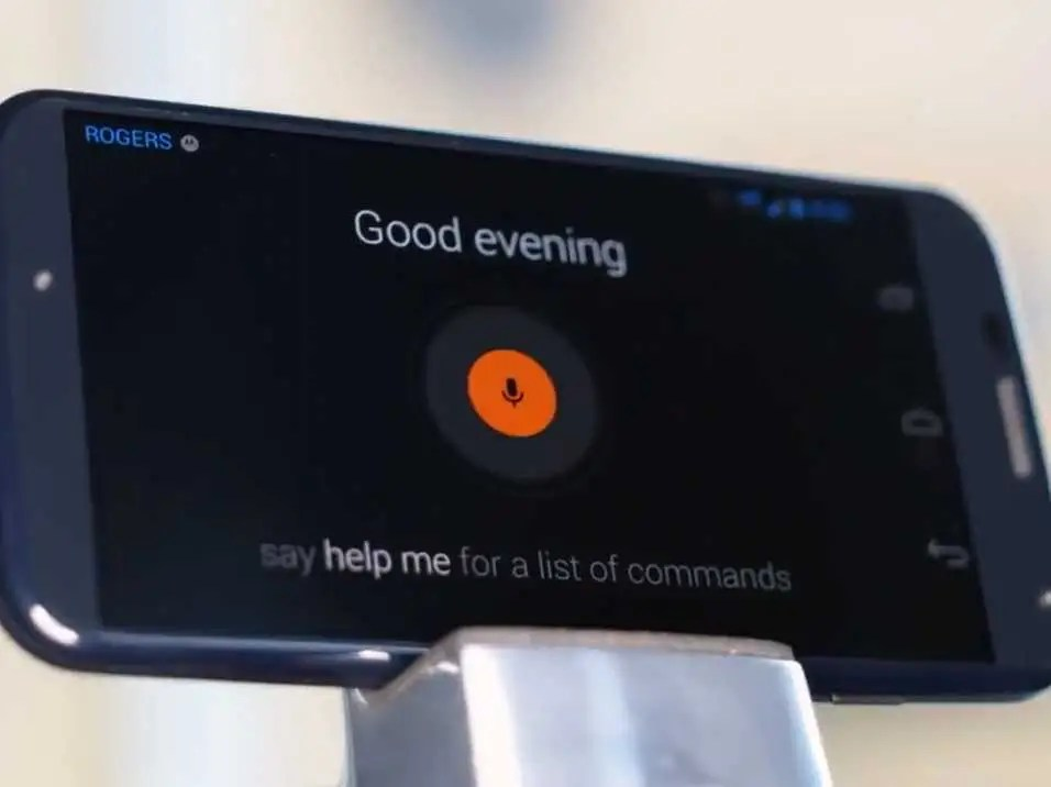 Motorola Moto X voice commands