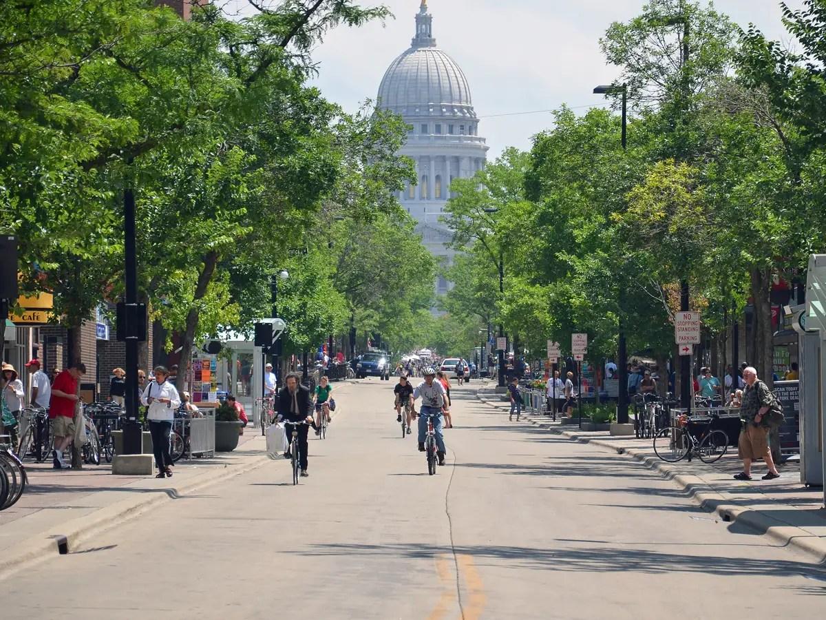 1. Madison, Wisconsin