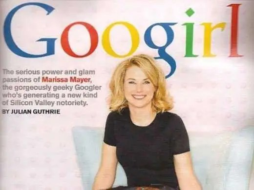 Marissa Mayer had just started her job as Google's 20th employee