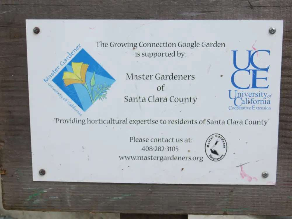 The gardens are part of a society that trains and educates others on horticulture.