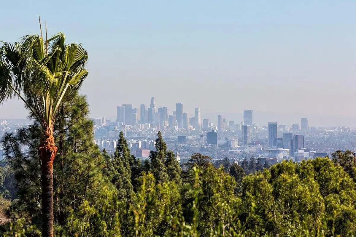 And you can't beat this view of LA.