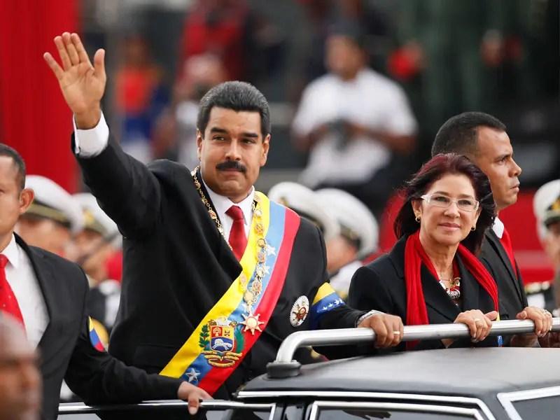 venezuela couple Nicolas Maduro Cilia Flores