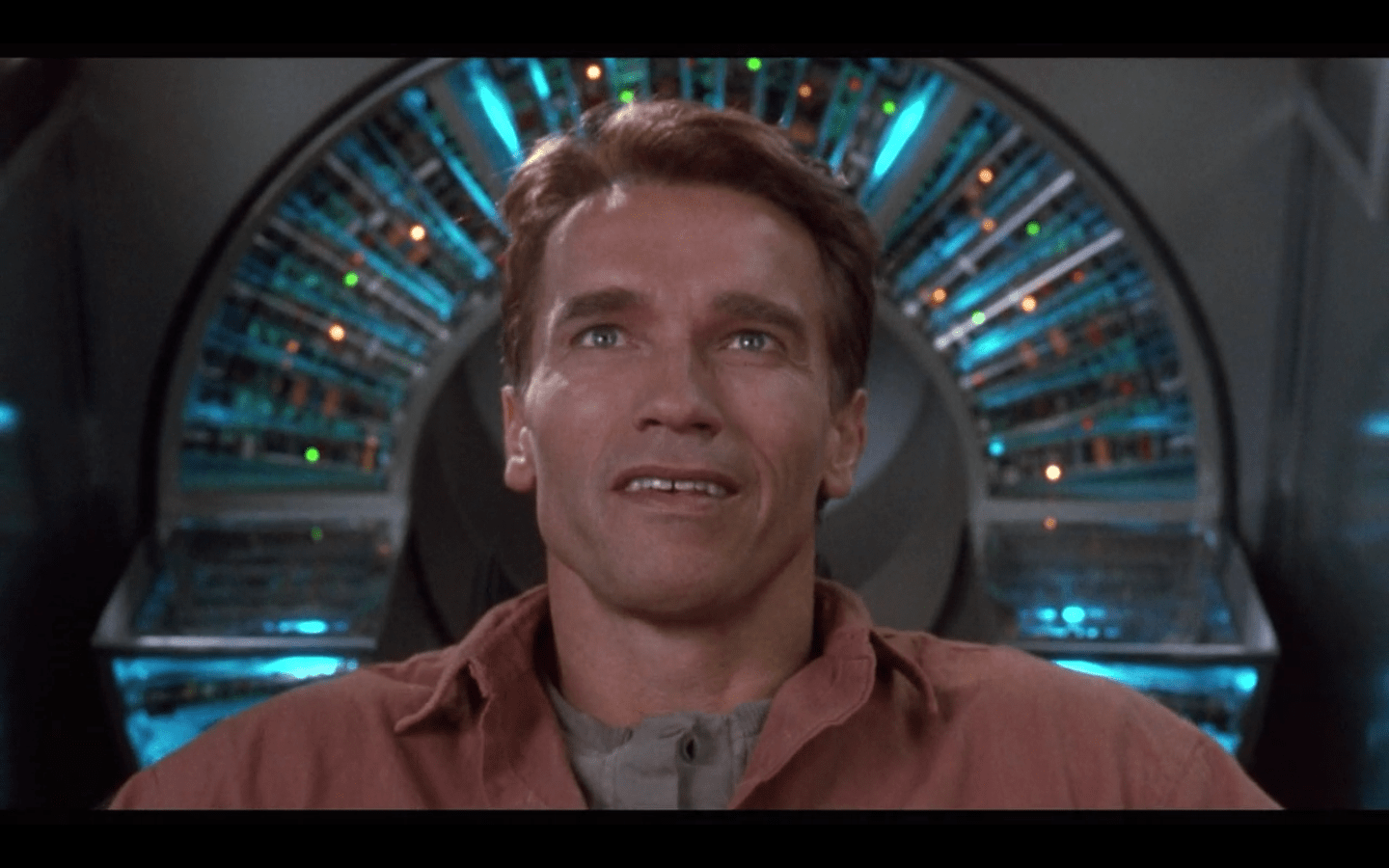 """Dick's short story on the topic, """"We Can Remember It For You Wholesale,"""" became the classic film Total Recall. Main character Douglas Quaid can't tell if he's a regular person pretending to be a secret agent, or a secret agent pretending to be a regular person."""
