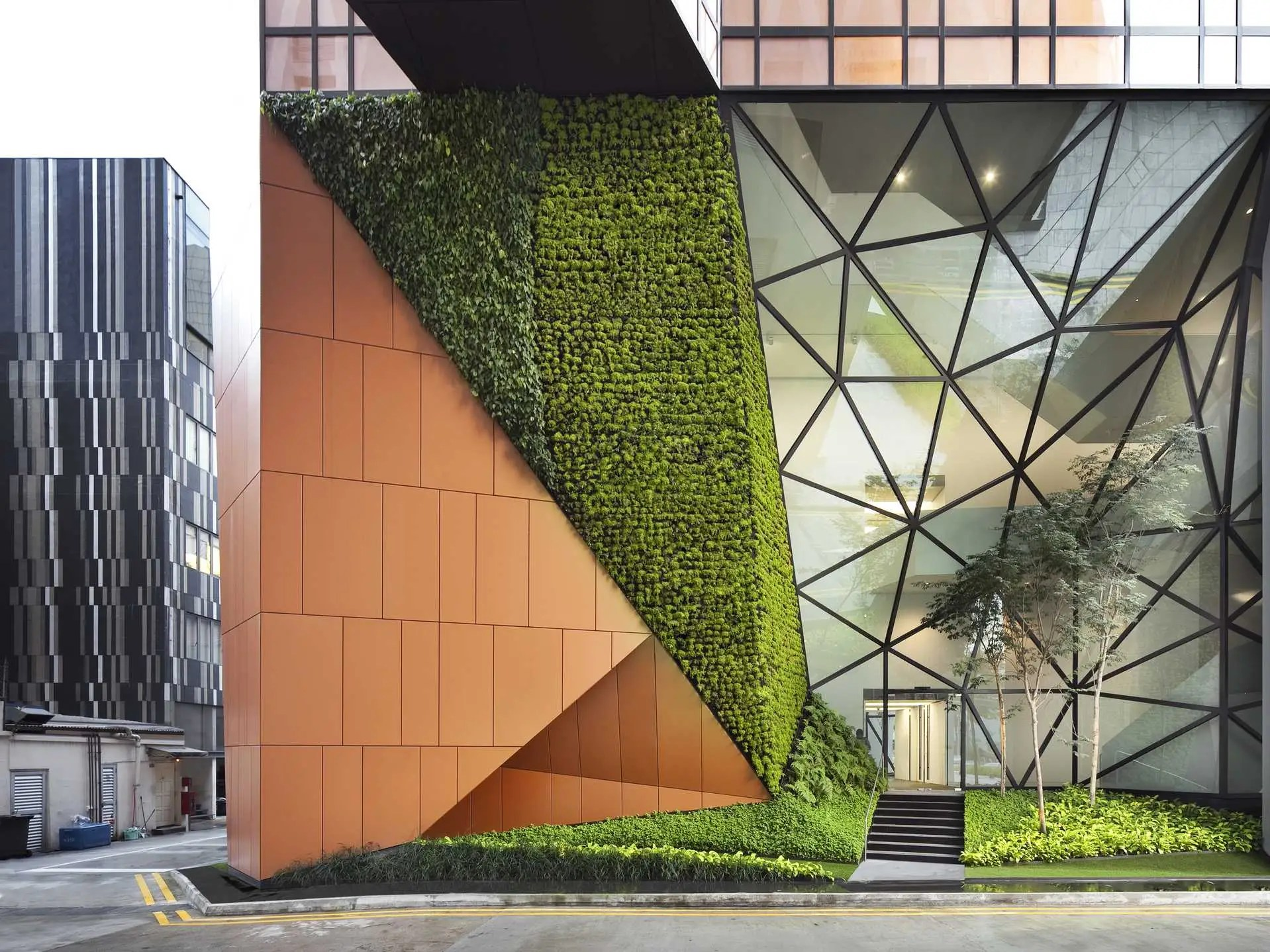 BEST OFFICE: 48 North Canal Road, a boutique office space in Singapore.