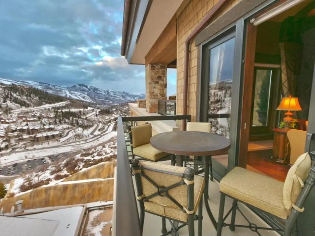 The condo has a full 2,000 square feet of outdoor living space.