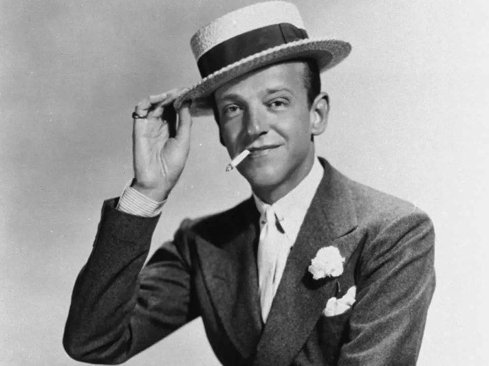 """In one of Fred Astaire's first screen tests, an executive wrote: """"Can't sing. Can't act. Slightly balding. Can dance a little."""""""