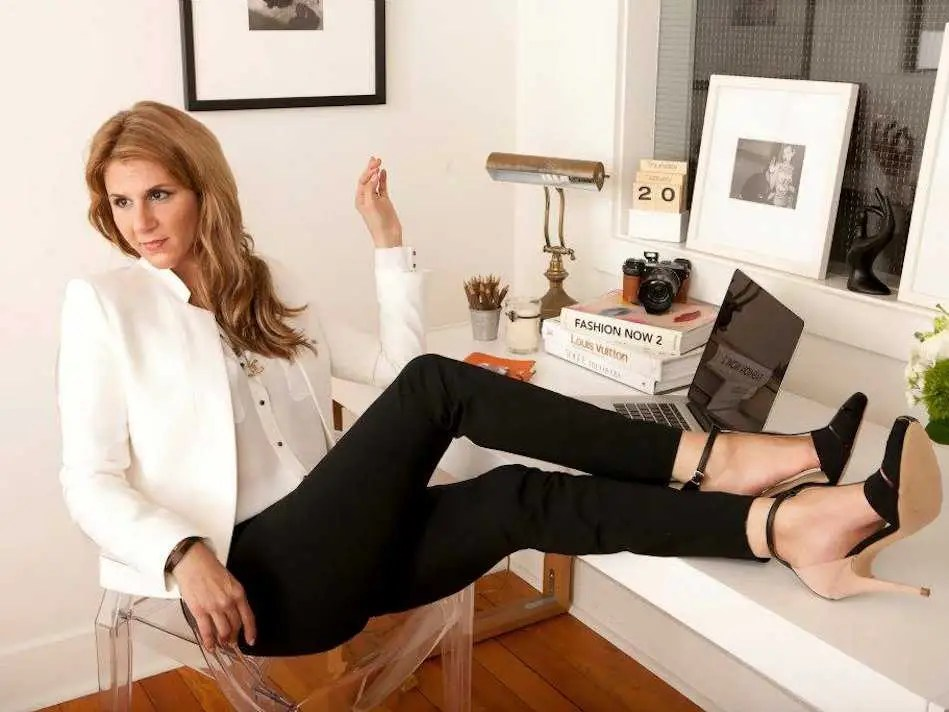 Tracy DiNunzio, founder and CEO of Tradesy, works from home one day each week.