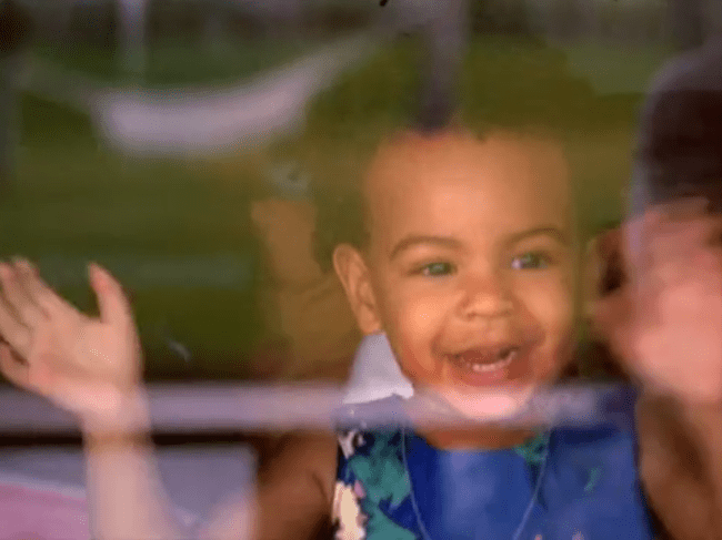 AGE 2: Blue Ivy Carter