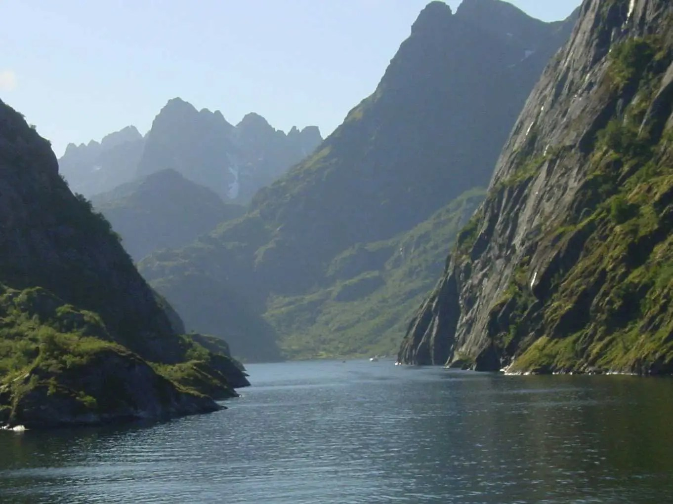 Cruise Norway's imposing fjords, created by eroding glaciers.
