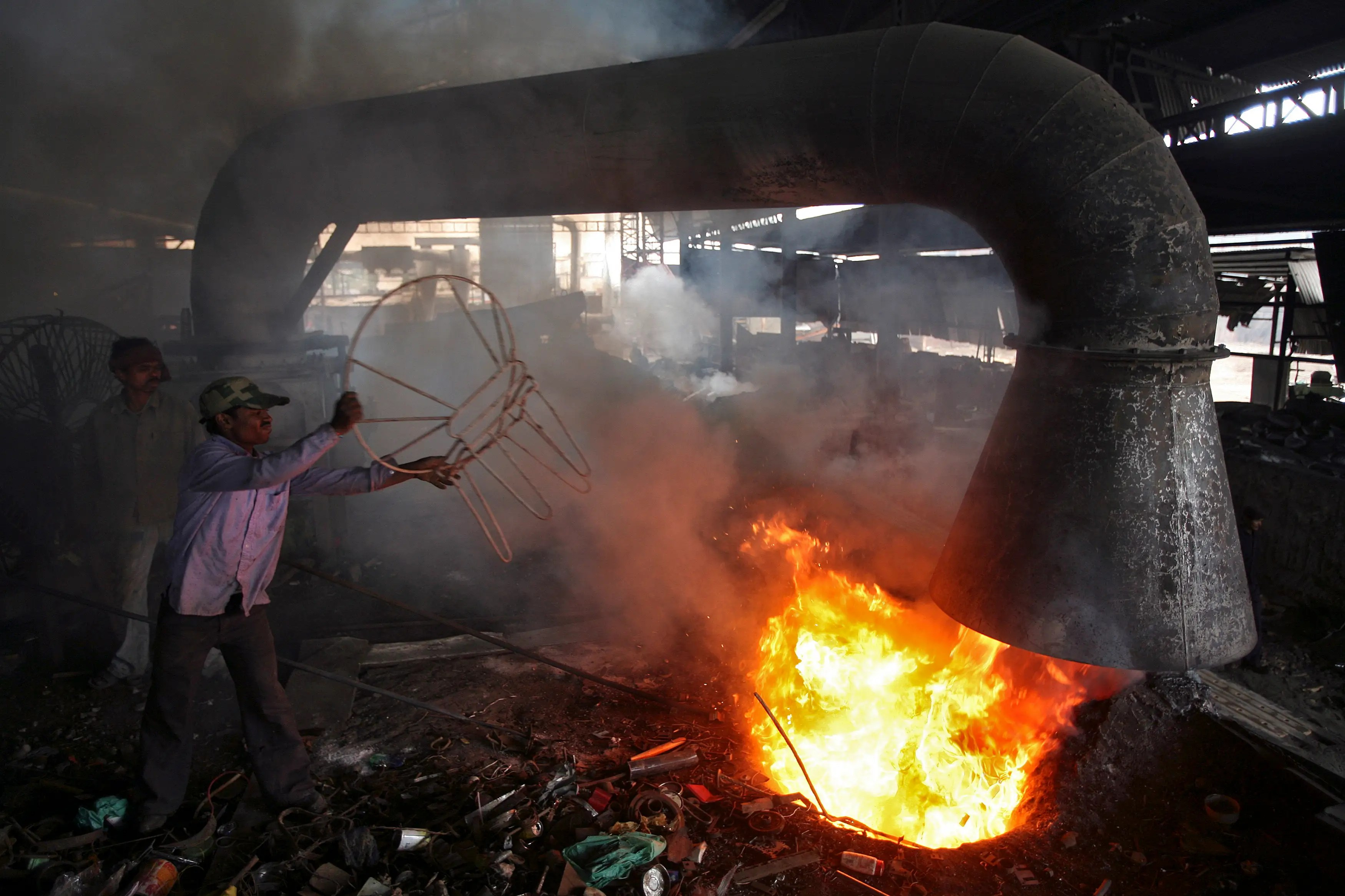 steel chair in guwahati baby doll high chairs india 39s garbage pickers photos business insider