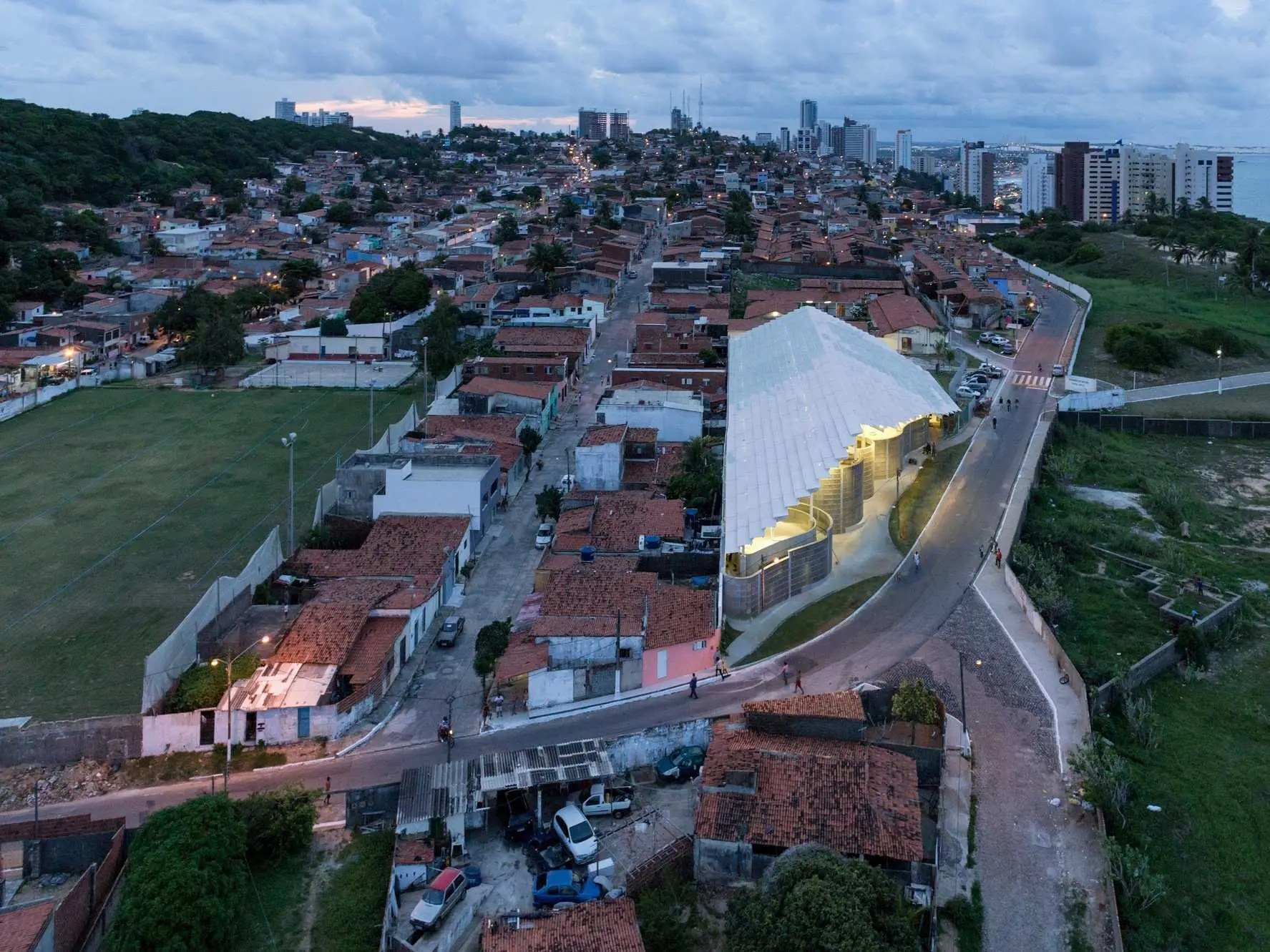 SPORTS ARCHITECTURE: Arena do Morro, Brazil