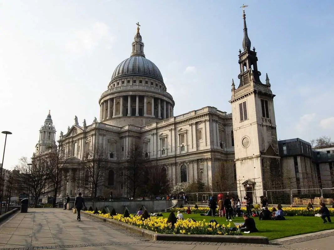 No. 4 London: 16.7 million visitors
