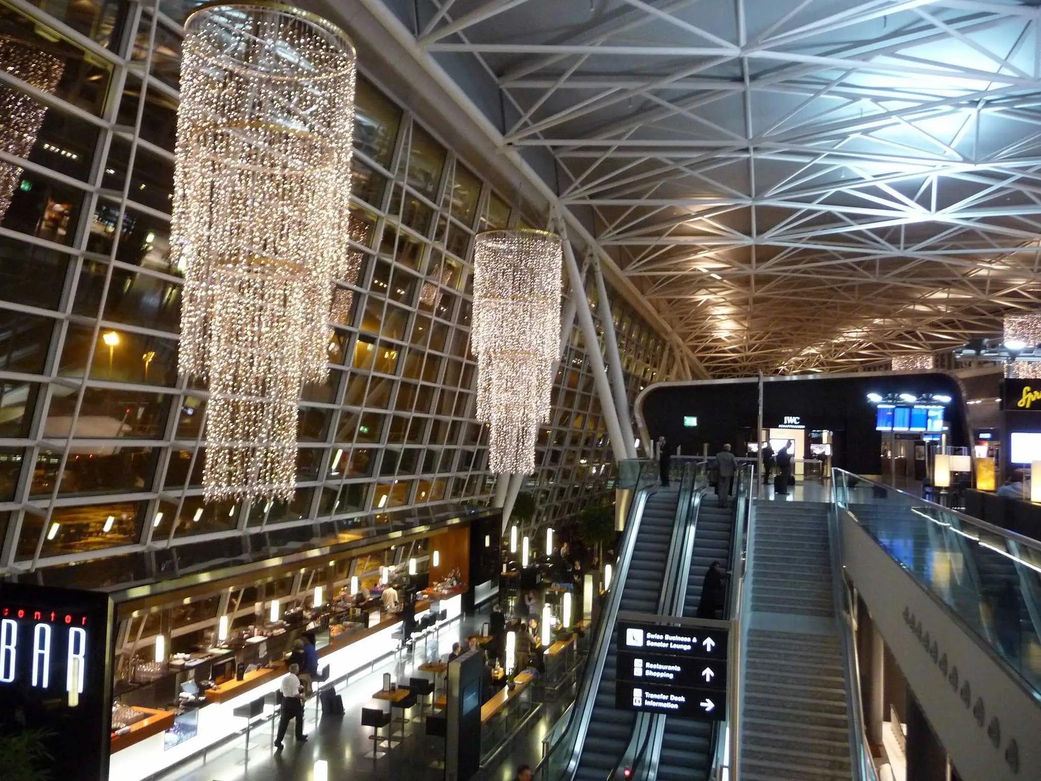6. Zurich Airport (ZRH)