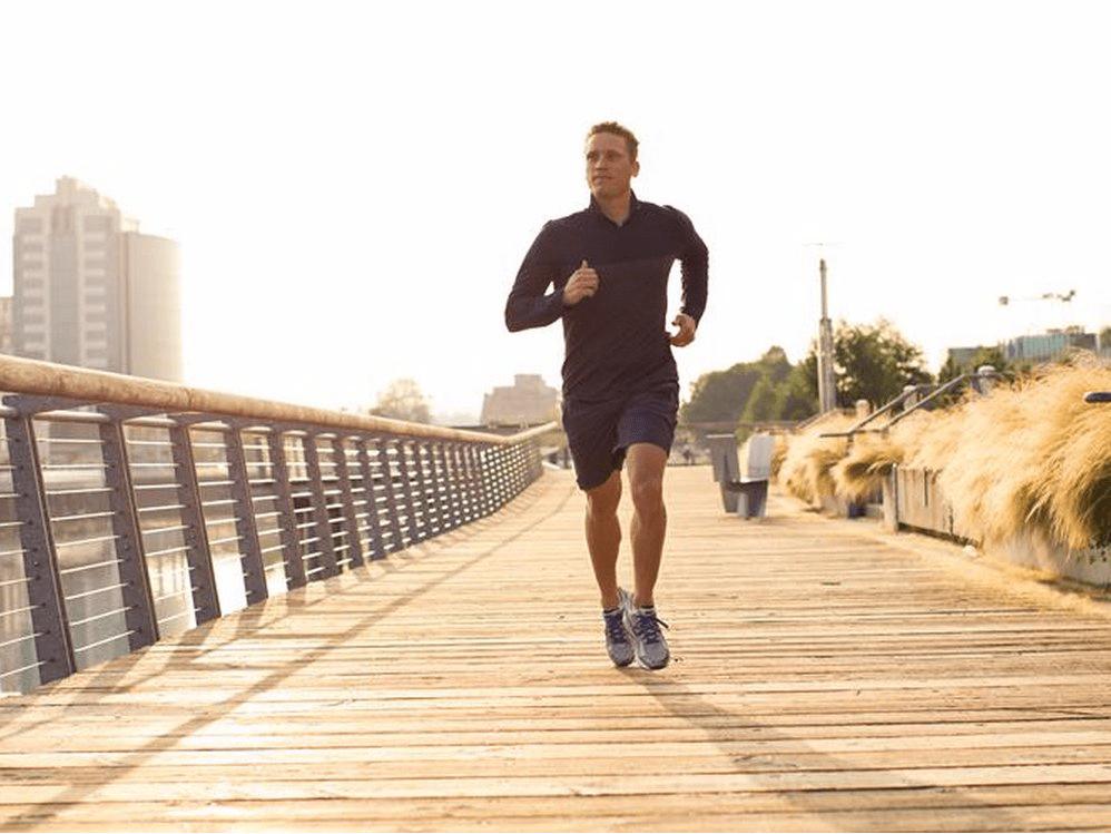 lululemon man runner running