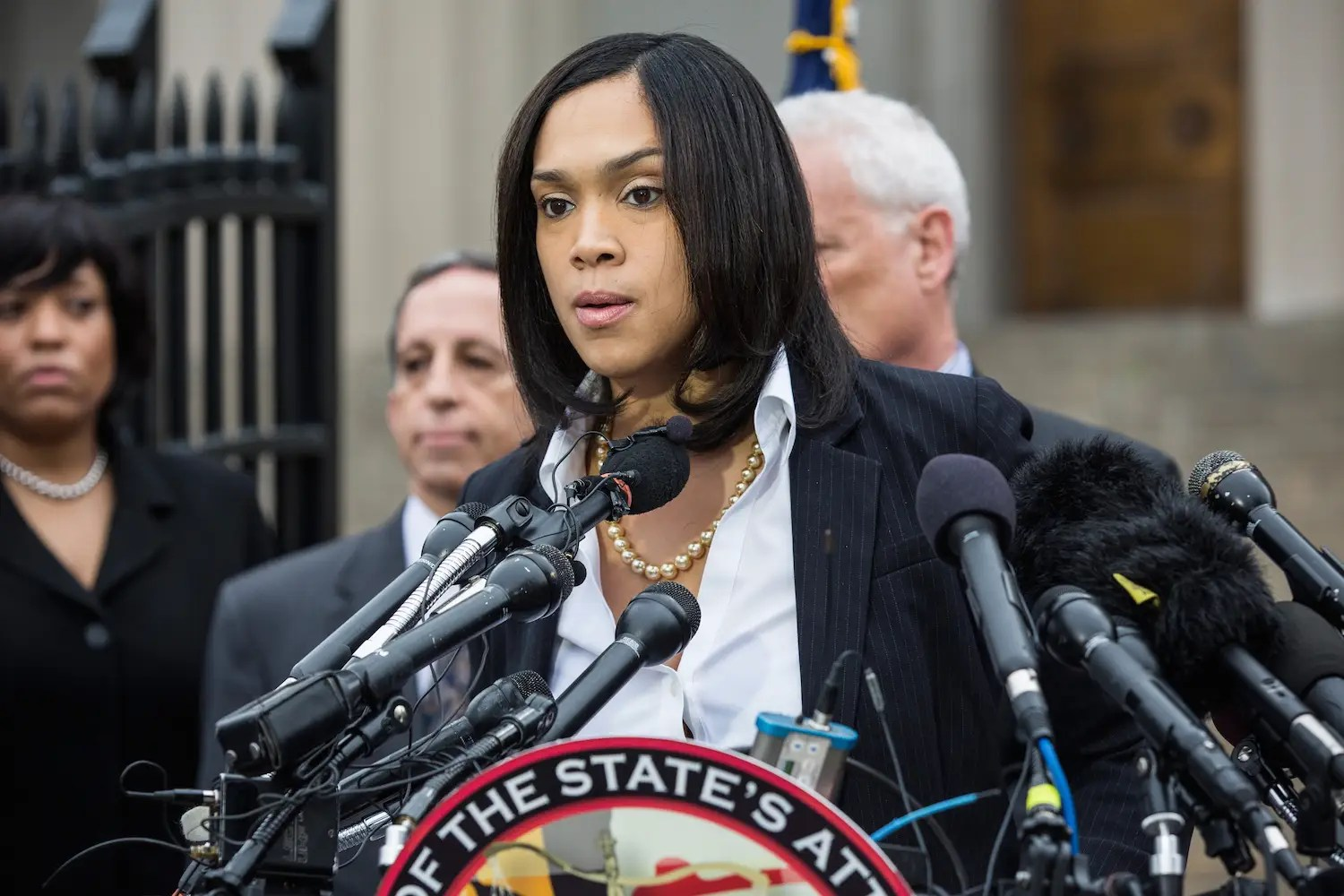 Baltimore City Attorney Marilyn Mosby