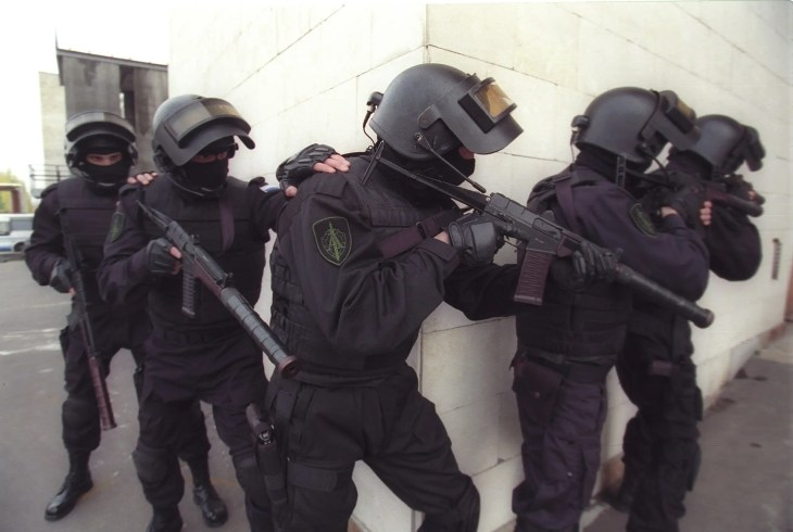 6. Russia's Alpha Group is one of the best-known special forces units in the world. This elite antiterrorism unit was created by the KGB in 1974 and remains under its modern-day counterpart, the FSB.