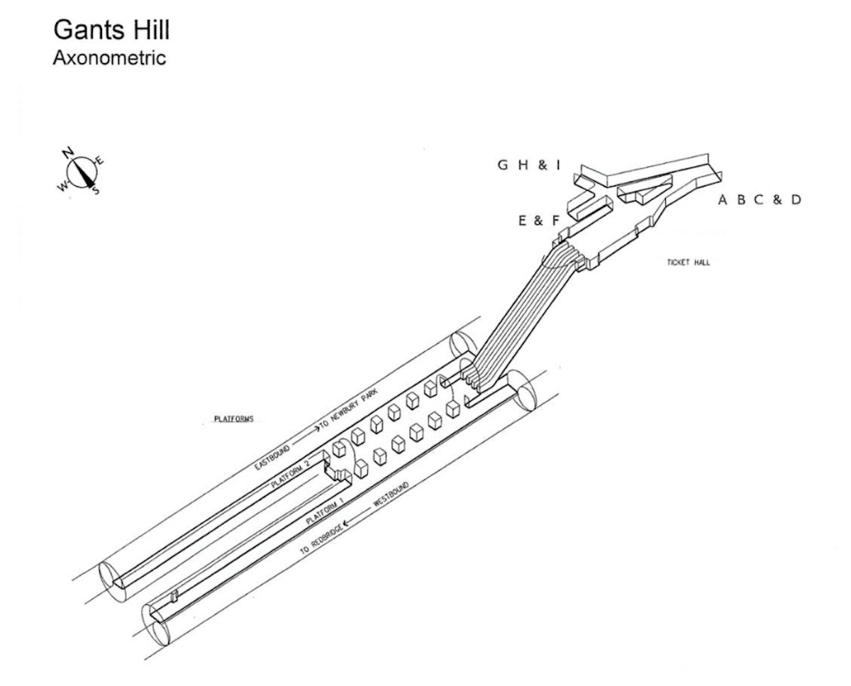 Axonometric 3d Diagrams Of Famous London Underground Tube