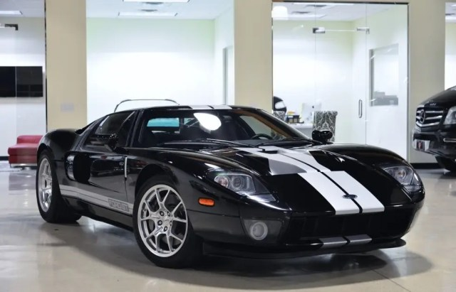 8. Fusion has three 2006 Ford GTs available, starting with this one for just under $300,000.