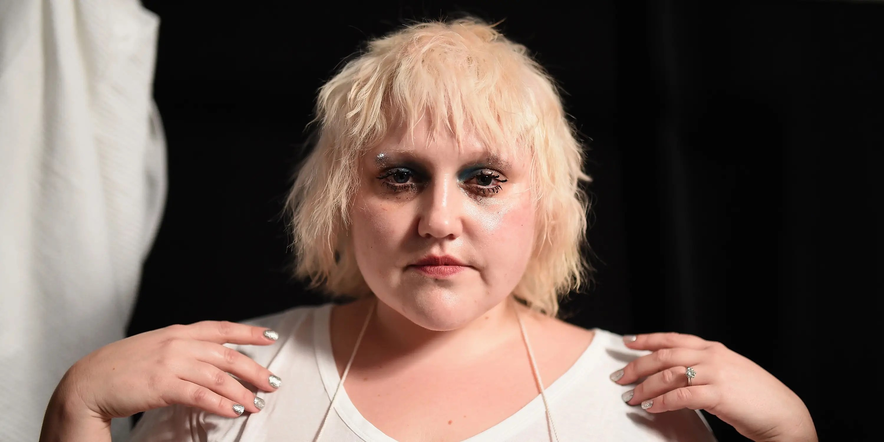 Beth Ditto Marc Jacobs NYFW 2015 backstage