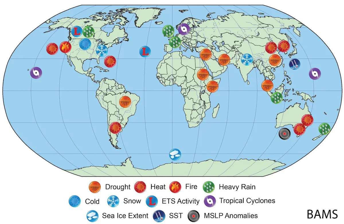 Severe Weather Caused By Climate Change