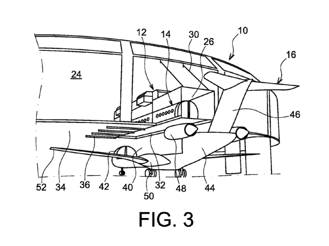 Airbus patents way to load passengers in airplanes