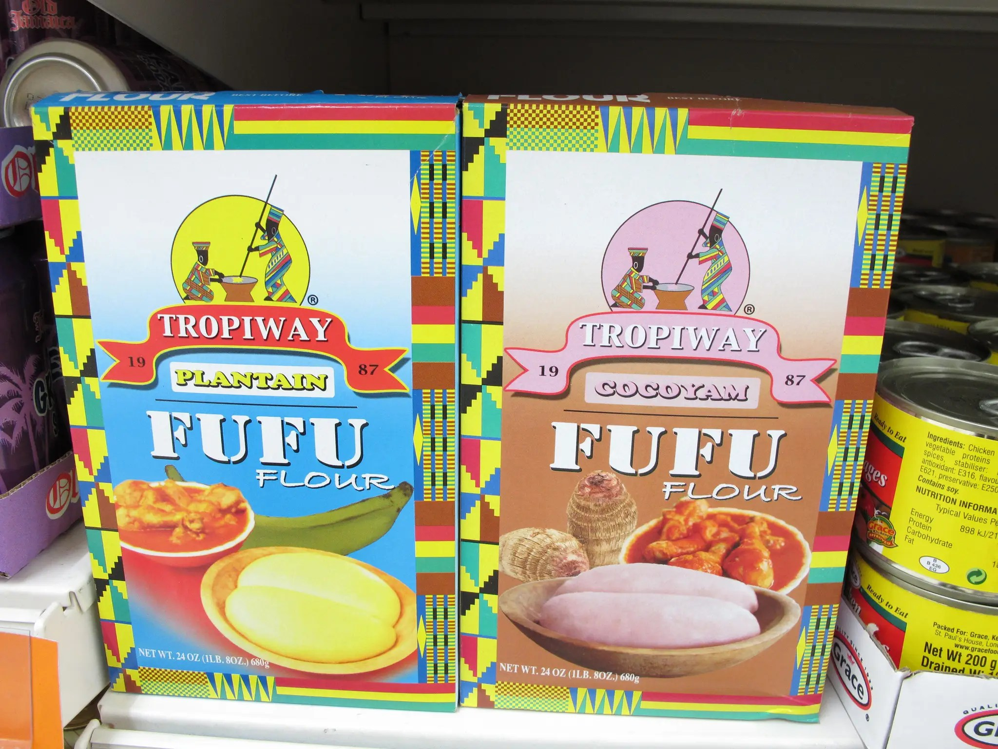 "On Christmas, Ghanaians eat corn porridge, okra stew, rice, and a yam or plantain mash called ""Fufu."""