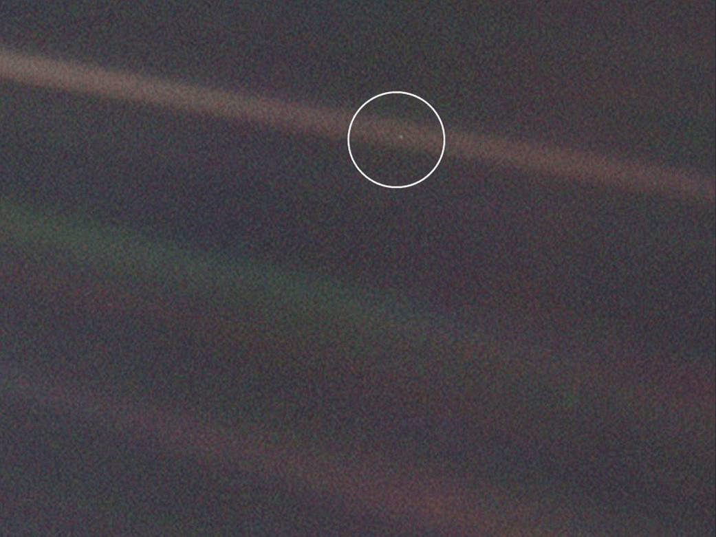 Image result for pale blue dot