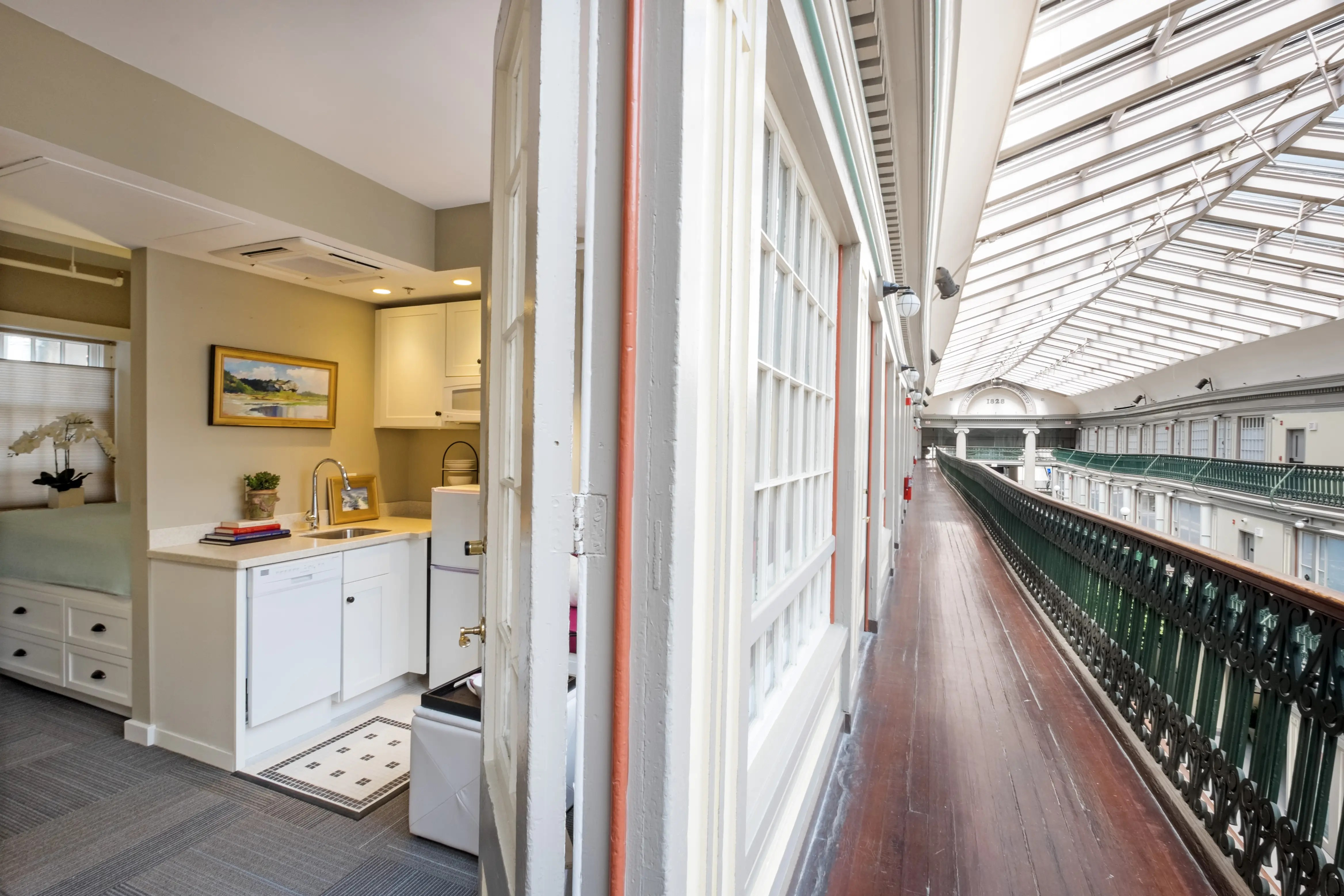 Americas oldest shopping mall is now micro apartments  Business Insider